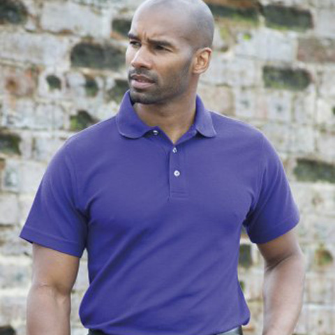 RTY Heavyweight Workwear Pique Polo Shirt